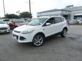 2014 White Platinum Ford Escape Titanium 2.0L EcoBoost #83469404