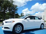 2013 White Platinum Metallic Tri-coat Ford Fusion SE #83469457