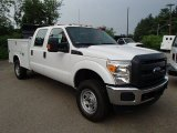 2013 Ford F350 Super Duty XL Crew Cab 4x4 Utility Truck Data, Info and Specs
