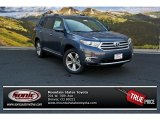 2013 Shoreline Blue Pearl Toyota Highlander Limited 4WD #83469279