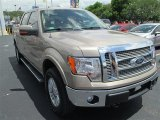 2012 Pale Adobe Metallic Ford F150 Lariat SuperCrew 4x4 #83469419
