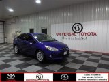 2012 Sonic Blue Metallic Ford Focus SE Sedan #83469414