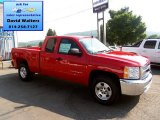 2013 Victory Red Chevrolet Silverado 1500 LT Extended Cab 4x4 #83469379