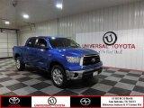 Blue Streak Metallic Toyota Tundra in 2010