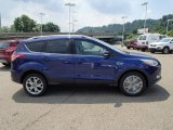 2014 Deep Impact Blue Ford Escape Titanium 1.6L EcoBoost 4WD #83484034