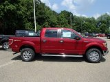 2013 Ruby Red Metallic Ford F150 XLT SuperCrew 4x4 #83484032