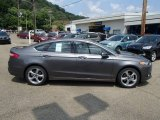 2013 Sterling Gray Metallic Ford Fusion SE #83484029