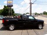 2013 Black Chevrolet Silverado 1500 LT Extended Cab 4x4 #83483884