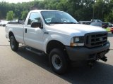 2004 Oxford White Ford F250 Super Duty XL Regular Cab 4x4 #83500525