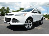 2013 Oxford White Ford Escape SE 2.0L EcoBoost 4WD #83499817