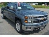 2014 Blue Granite Metallic Chevrolet Silverado 1500 LT Crew Cab 4x4 #83500029