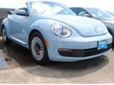 2013 Denim Blue Volkswagen Beetle 2.5L Convertible #83500500