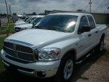 2008 Bright White Dodge Ram 1500 SLT Quad Cab #83499785