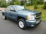 2010 Blue Granite Metallic Chevrolet Silverado 1500 LT Extended Cab 4x4 #83500732