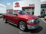 2011 Deep Cherry Red Crystal Pearl Dodge Ram 1500 Big Horn Crew Cab 4x4 #83500676