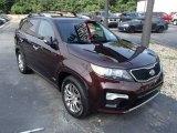 2012 Dark Cherry Kia Sorento SX V6 AWD #83500670