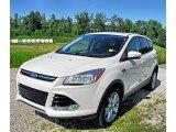 2013 White Platinum Metallic Tri-Coat Ford Escape SEL 2.0L EcoBoost 4WD #83499974