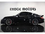 2007 Basalt Black Metallic Porsche 911 Turbo Coupe #83500655