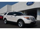 2014 White Platinum Ford Explorer Limited #83499254