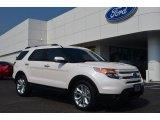 2014 White Platinum Ford Explorer Limited #83499254