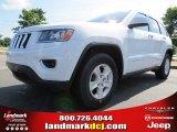 2014 Bright White Jeep Grand Cherokee Laredo #83499233