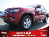 2014 Deep Cherry Red Crystal Pearl Jeep Grand Cherokee Laredo #83499231