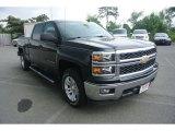 2014 Black Chevrolet Silverado 1500 LT Crew Cab 4x4 #83499954