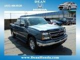 2006 Blue Granite Metallic Chevrolet Silverado 1500 LT Extended Cab 4x4 #83500138
