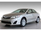 2013 Classic Silver Metallic Toyota Camry LE #83500905
