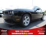 2013 Pitch Black Dodge Challenger R/T #83499209