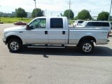 2004 Oxford White Ford F250 Super Duty XLT Crew Cab 4x4 #83500612