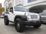 2012 Bright White Jeep Wrangler Sport 4x4 #83499191