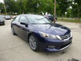 2013 Obsidian Blue Pearl Honda Accord Sport Sedan #83500116