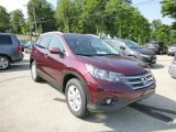 2013 Basque Red Pearl II Honda CR-V EX-L AWD #83500115