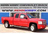 2013 Victory Red Chevrolet Silverado 1500 LT Extended Cab 4x4 #83499699