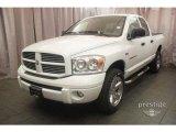 2007 Bright White Dodge Ram 1500 Sport Quad Cab 4x4 #8340969