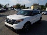 2014 White Platinum Ford Explorer Sport 4WD #83500430