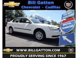 2005 White Chevrolet Malibu Sedan #83500426