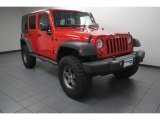 2012 Flame Red Jeep Wrangler Unlimited Sport 4x4 #83499695