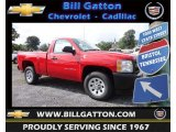 2013 Victory Red Chevrolet Silverado 1500 Work Truck Regular Cab #83500411