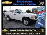 2013 Summit White Chevrolet Silverado 1500 Work Truck Regular Cab #83500410