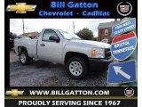 2013 Silver Ice Metallic Chevrolet Silverado 1500 Work Truck Regular Cab #83500409