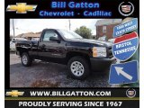 2013 Black Chevrolet Silverado 1500 Work Truck Regular Cab #83500408