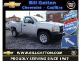 2013 Silver Ice Metallic Chevrolet Silverado 1500 Work Truck Regular Cab #83500407