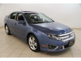 2010 Sport Blue Metallic Ford Fusion Sport #83499910