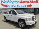 2004 Bright White Dodge Ram 1500 Laramie Quad Cab 4x4 #83499126