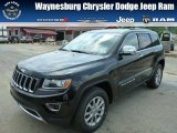 2014 Brilliant Black Crystal Pearl Jeep Grand Cherokee Limited 4x4 #83499424