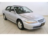 2002 Satin Silver Metallic Honda Accord EX V6 Sedan #83499869
