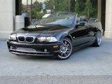 2002 Jet Black BMW 3 Series 325i Convertible #83499405