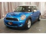 2007 Laser Blue Metallic Mini Cooper S Hardtop #8340936